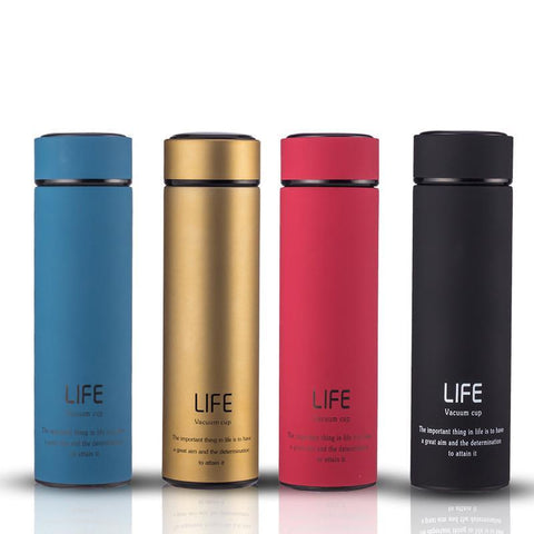Thermal Insulated Hot/Cold Stainless Steel LIFE Vaccuum Cup (5 Colors) - I Have Wanderlust