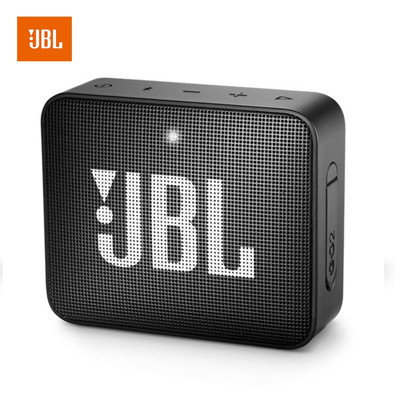 JBL GO 2 Music Waterproof Mini Bluetooth Speaker With Subwoofer & Speakerphone - I Have Wanderlust