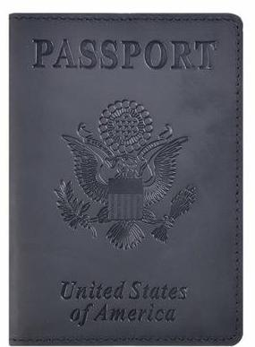 Crazy Horse Leather Passport Cover (6 Colors) - I Have Wanderlust