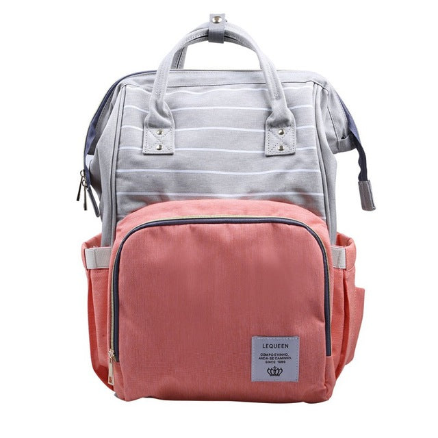 Big Mouth Oxford Maternity Backpack (30 Colors) - I Have Wanderlust