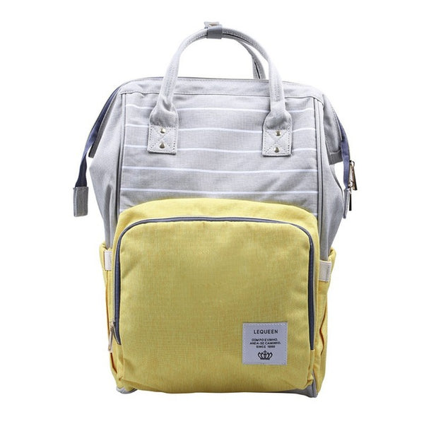 The Big Mouth Oxford Maternity Backpack by LEQUEEN (30 Colors) - I Have Wanderlust