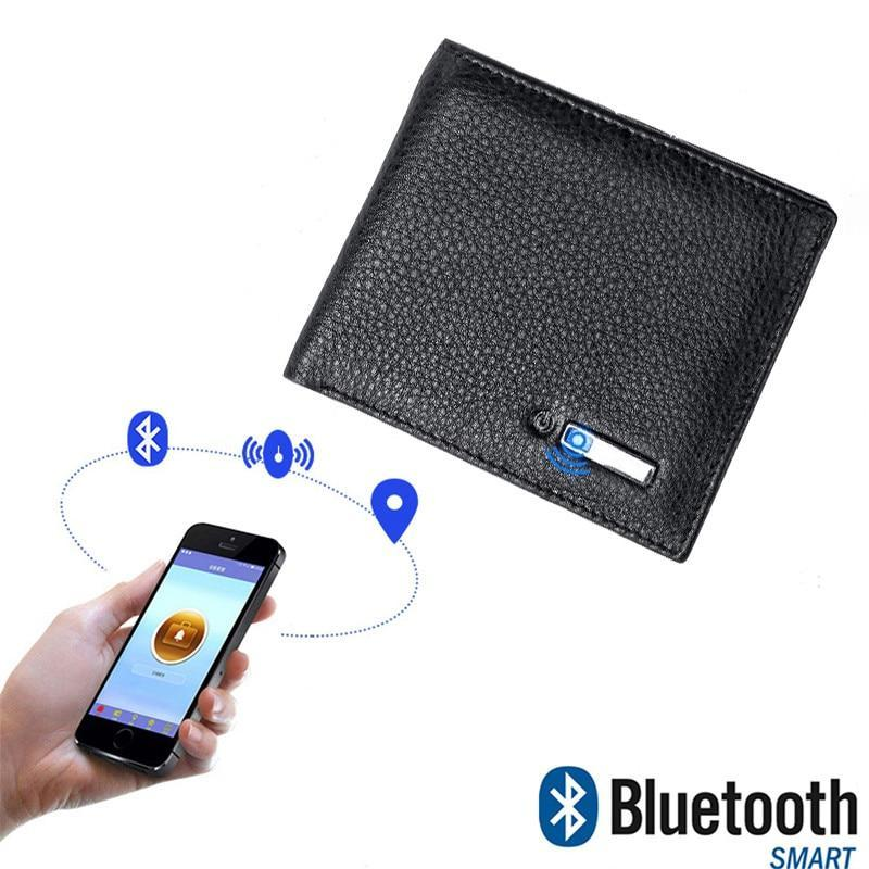 Smart Genuine Leather Anti-Lose Bluetooth Wallet (3 Colors/2 Styles) - I Have Wanderlust