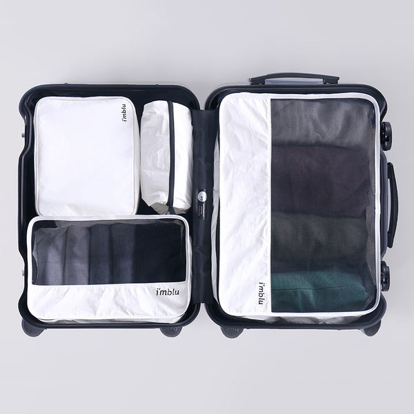 Deluxe DuPont Paper Boston Bag Minimalist Packing Cubes - I Have Wanderlust