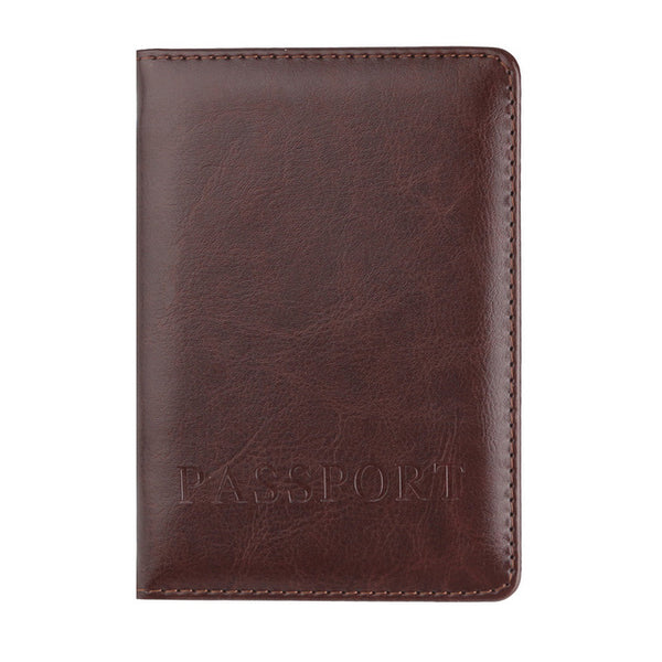 The CONEED Faux Leather Passport Wallet - I Have Wanderlust