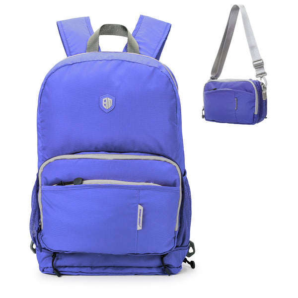 BAGSMART Portable Travel Hiking Backpack (4 Colors) - I Have Wanderlust