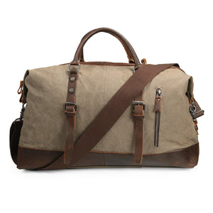 The ECOSUSI Vintage Weekender (3 Colors) - I Have Wanderlust