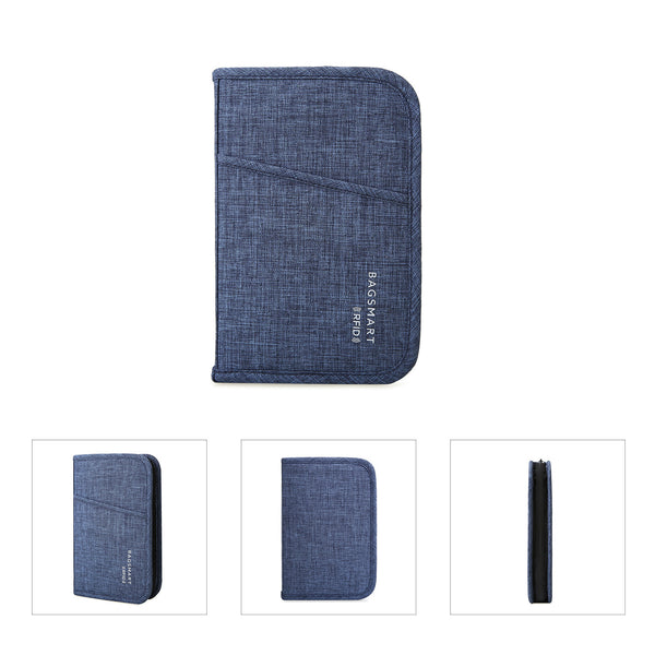 BAGSMART RFID Passport Bag (3 Colors) - I Have Wanderlust