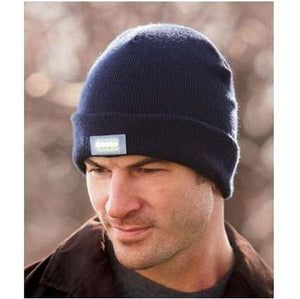 Unisex Knitted Beanie With Built-In 5 LED Flashlight - I Have Wanderlust
