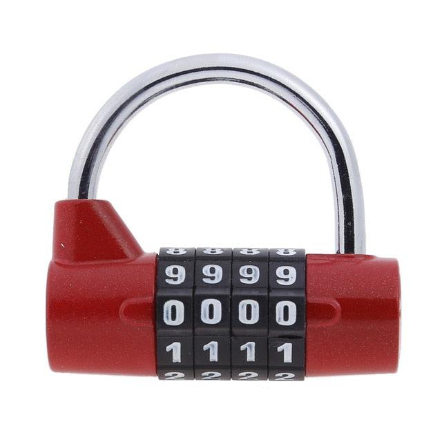 4-Digit Alloy Combination Luggage Lock (4 Colors) - I Have Wanderlust