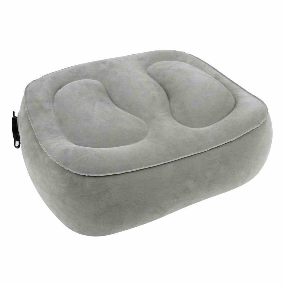 Inflatable Travel Foot Rest (3 Sizes/2 Colors) - I Have Wanderlust