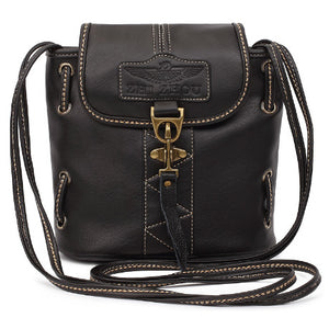 Vintage Ladies Crossbody Mini Messenger - I Have Wanderlust