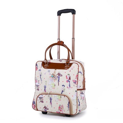 The AMLETG Women's Trolley Rolling Bag (14 Colors) - I Have Wanderlust