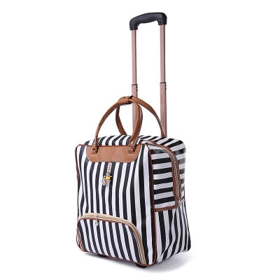 Women's  Rolling Trolley Bag (14 Colors) - I Have Wanderlust