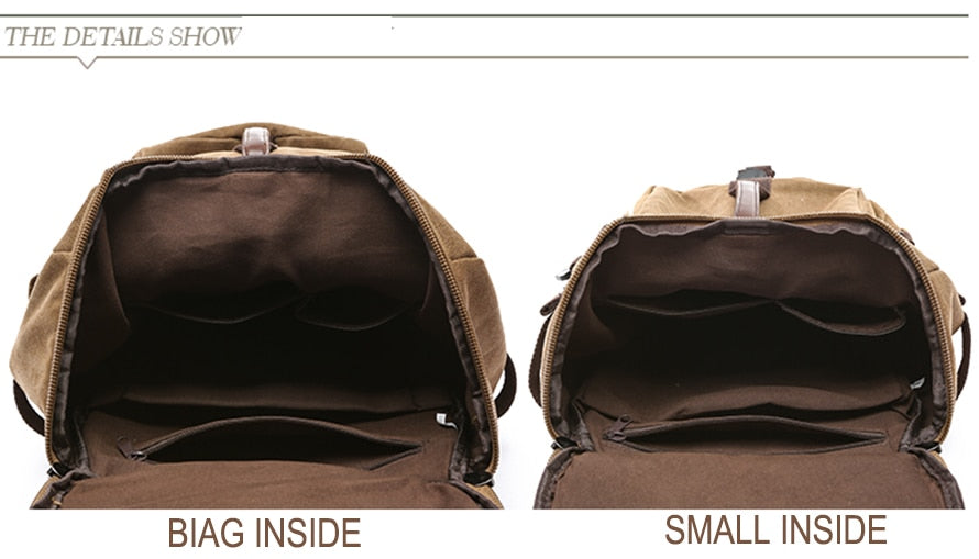 SNAP TOURS Large Multifunctional Backpack Duffel (2 Sizes/6 Colors) - I Have Wanderlust