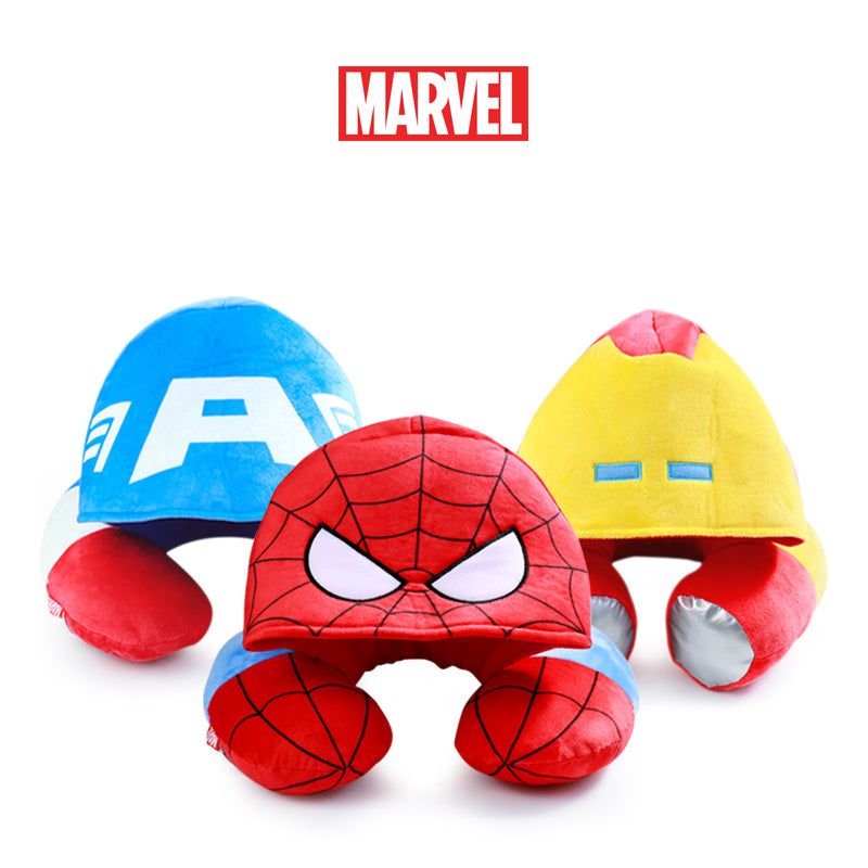 Marvel Genuine Avengers Hooded U-Pillow (3 Styles) - I Have Wanderlust