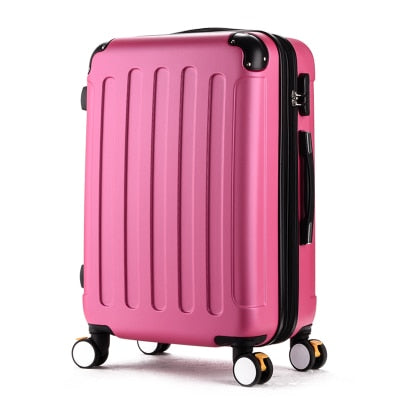 "20""/24"" Waterproof Trolley Suitcase (2 Sizes/7 Colors) - I Have Wanderlust"