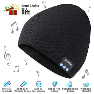 Bluetooth Wireless Headphone Beanie - I Have Wanderlust