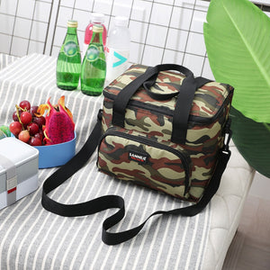 Large Capacity Insulated Travel Lunch Bag - I Have Wanderlust