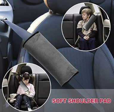 Children's Seat Belt Pillow - I Have Wanderlust