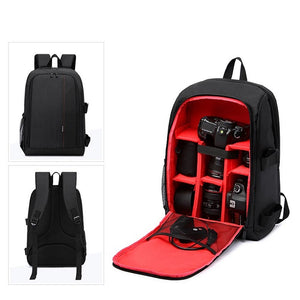 Multi-Functional Waterproof DSLR Camera/Video Backpack (4 Colors)