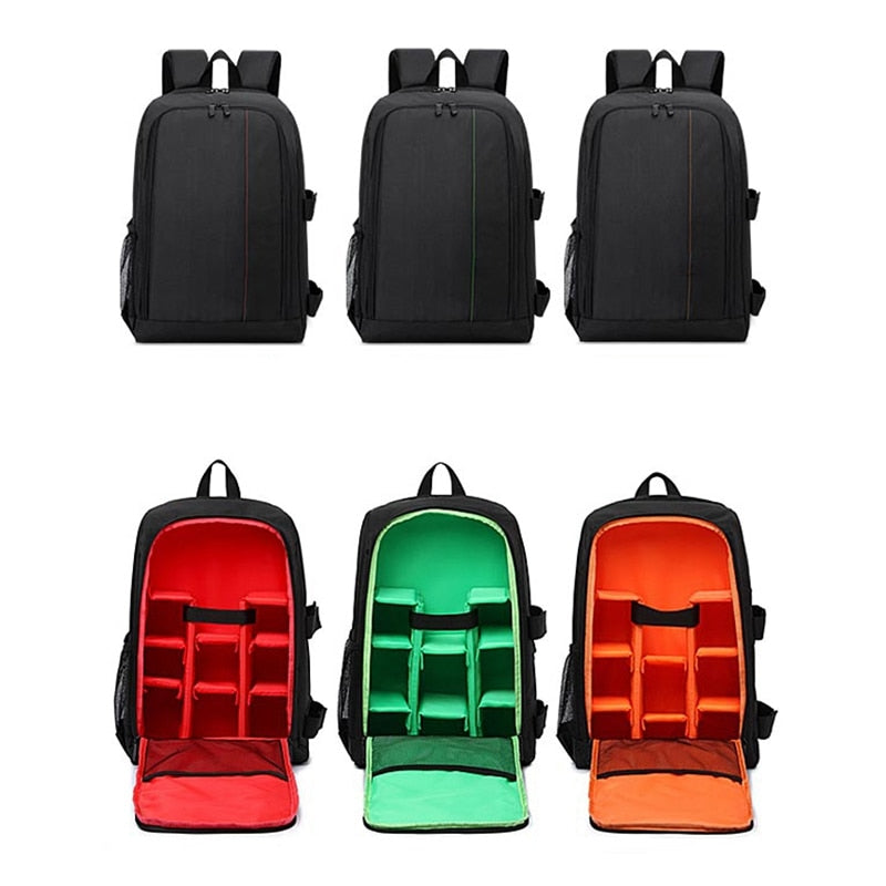 Multi-Functional Waterproof DSLR Camera/Video Backpack (4 Colors) - I Have Wanderlust