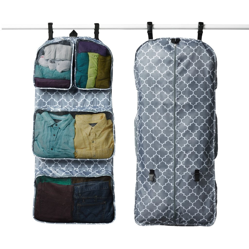 GTO Garment Travel Organizer Transforming Hanging Weekender (11 Colors) - I Have Wanderlust