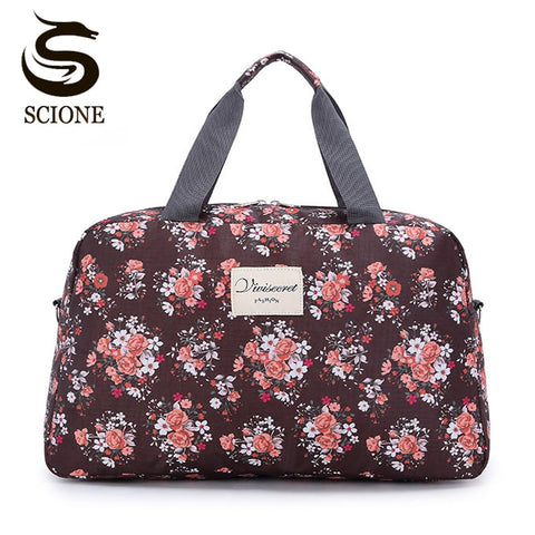 Ladies Floral Travel Handbag (10 Styles) - I Have Wanderlust