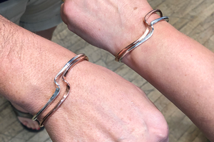 Wave Bracelet Stacking Set -- Saturday Morning Workshop - Saturday, September 26th