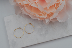 14K Gold Filled Mini Classic Hoops