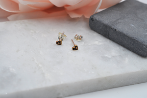 Happy Hearts Stud Earrings