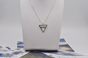 Earth Element Necklace in Sterling Silver