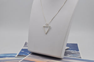 Sterling Silver Water Element Necklace