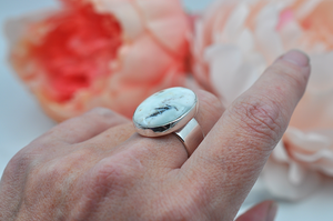 Ocean Jasper Estelle Ring in Sterling Silver