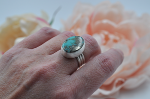 Campitos Turquoise and Silver Ring