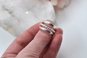 SATURDAY, June 5th • Sterling Silver Stacking Rings One Day Workshop