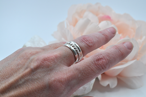 SATURDAY, April 24th • Create Three Sterling Silver Stacking Rings