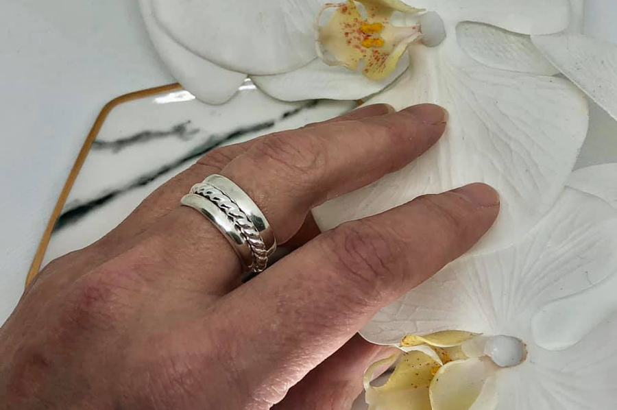 Sterling Silver Stacking Rings One Day Workshop - Saturday August 15th