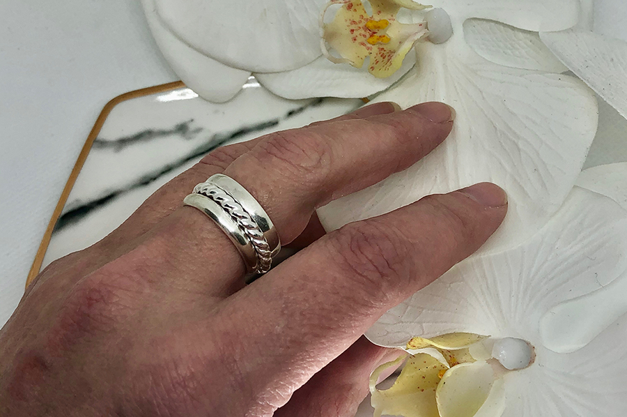 SATURDAY, February 6th • Create Three Sterling Silver Stacking Rings