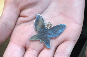Saturday, March 13th  - Silver Cut Out Pendant - Beginning Level