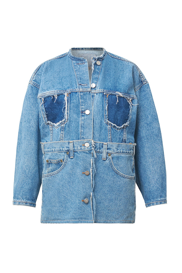 Lui Reworked Denim Jacket