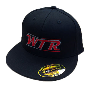 WTR Flex Fit Hat - Black