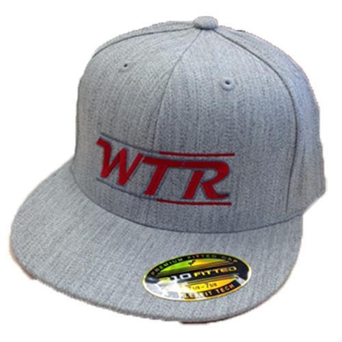 WTR Flex Fit Hat -  Grey Weave