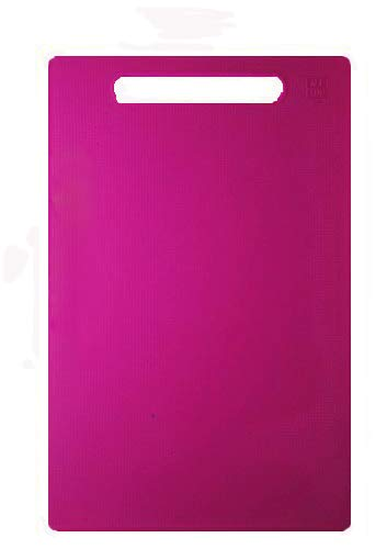 Kitchen Chopping Board Size 32 cm*22 cm for Cutting Vegetable (Pink)
