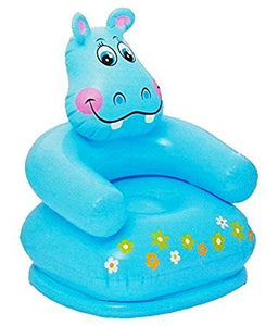 Graphitos Inflatable PVC Animal Chair (Blue)