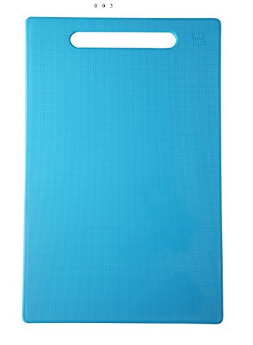 Kitchen Chopping Board Size 32 cm*22 cm for Cutting Vegetable (Blue)