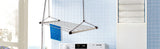 Wudore Stainless Steel (Ful Frame) Rust Proof Ceiling Clothes Hanger Roof Mount Cloth Dryer (4 Pipes) (4 Feet)