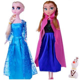 Frozen doll Sisters Princess Elsa & Princess Anna Lovely Sisters - Baby Girls Doll