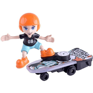 Graphitos Cartoon Electric Stunt Scooter Skateboard Light Music Children's Funny Toy Sliding Plate