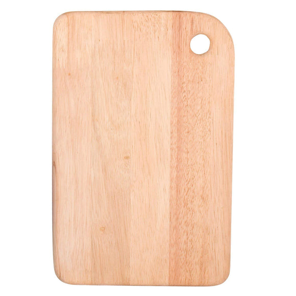 Graphitos Natural rubberwood Wooden Chopping Board (8 inch X 11.5 inch) - Small