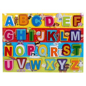Graphitos Wooden Alphabets - Ideal for Kids - Excellent Learning kit